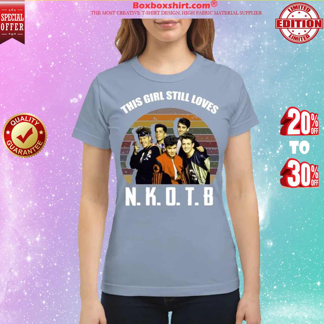 This girl still loves New Kids on the Block classic shirt