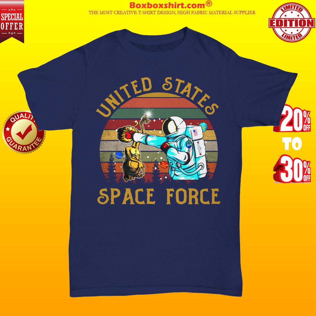 United states space force unisex tee shirt
