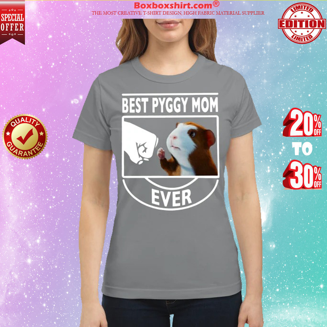 Best Pyggy mom ever classic shirt