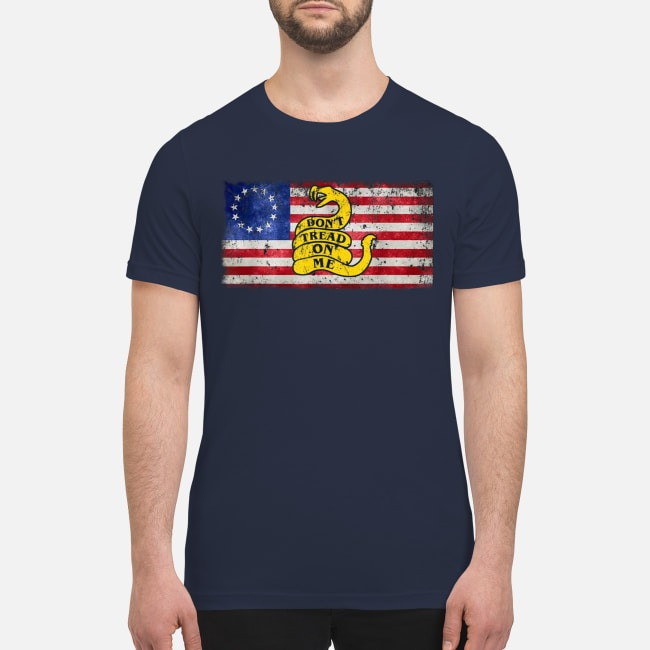 Don't tread on me premium men's shirt