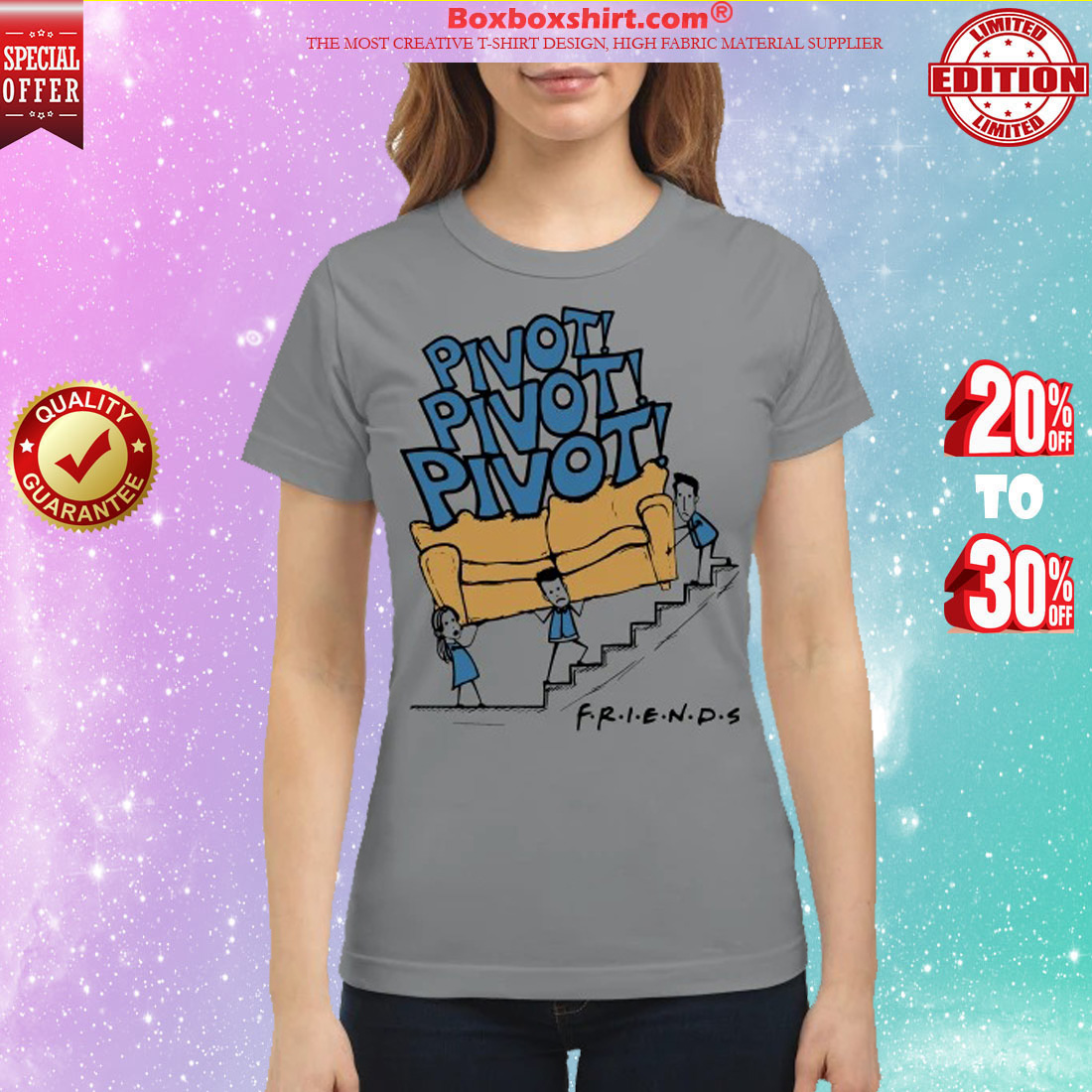 Pivot pivot pivot Friends classic shirt