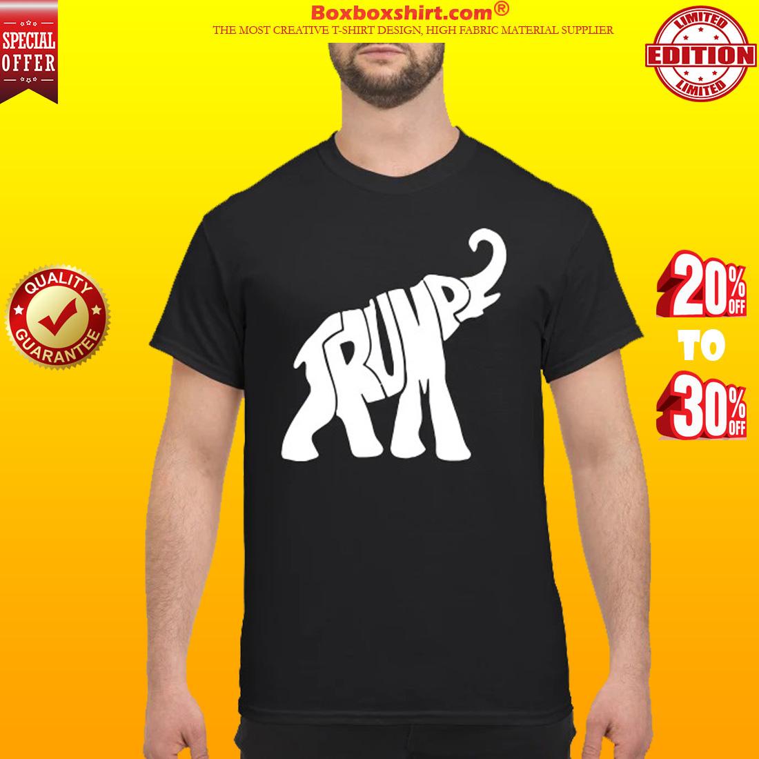 Trump elephant shirt