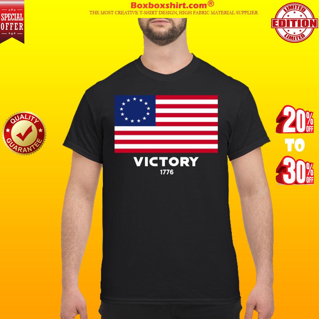 USA American flag victory 1776 shirt