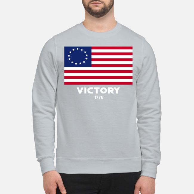 USA American flag victory 1776 sweatshirt