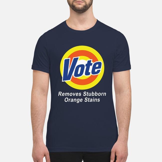 Vote remove stubborn orange stains premium men's shirt