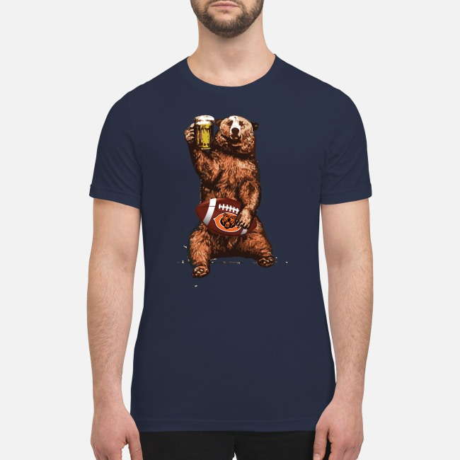Chicago bear drink beer premium men's shirt
