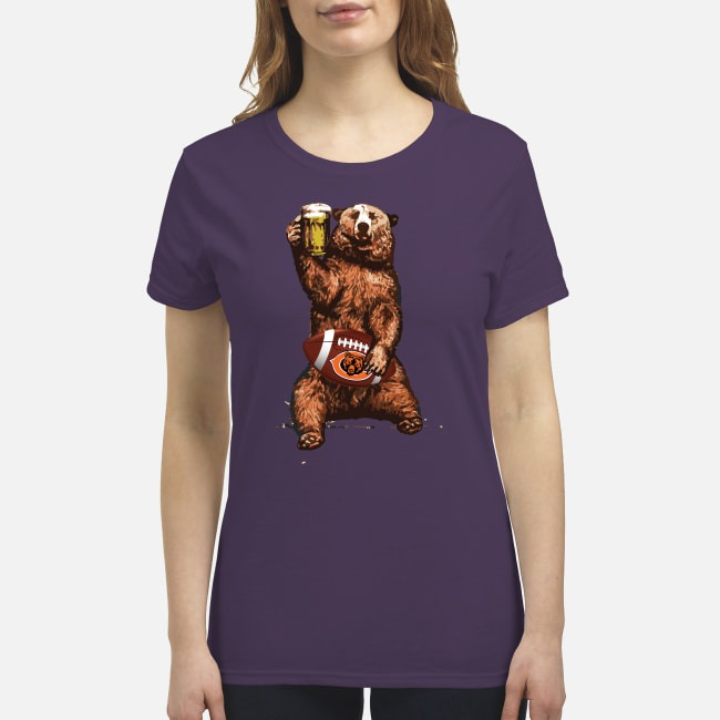 Chicago bear drink beer premium women's shirt