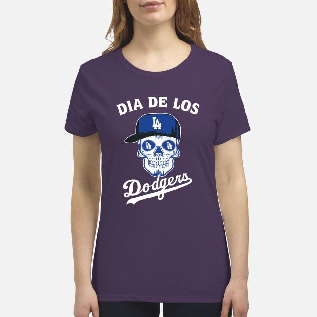 Dia de los Dodgers premium women's shirt