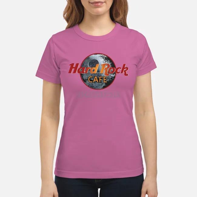 Hard rock cafe death star classic shirt