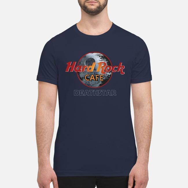 Hard rock cafe death star premium men's shirt