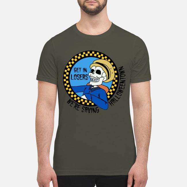 Hocus Pocus Get in loser we're saving halloweentown premium men's shirt