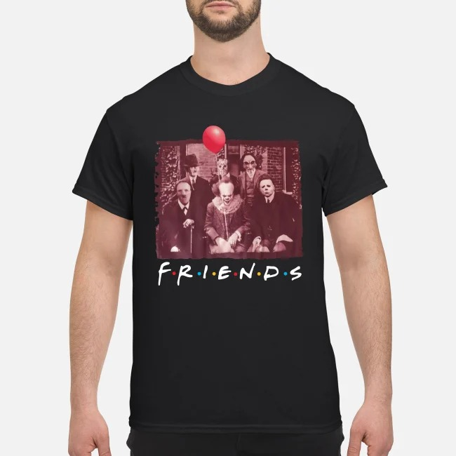 Horror movies character Friend TV show cool shirt