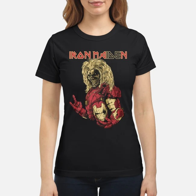 Iron man iron maiden classic shirt