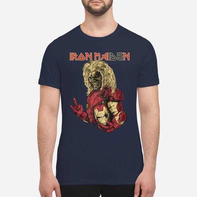 Iron man iron maiden premium men's shirt