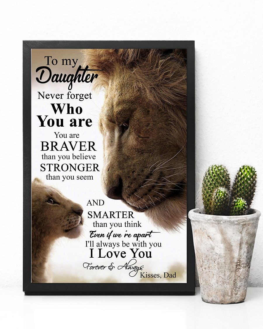 [HOTTEST] Lion King To My Daughter Never Forget Who You