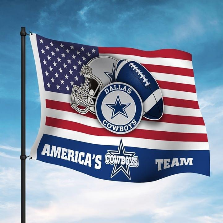 America's Dallas cowboys team flag shirt