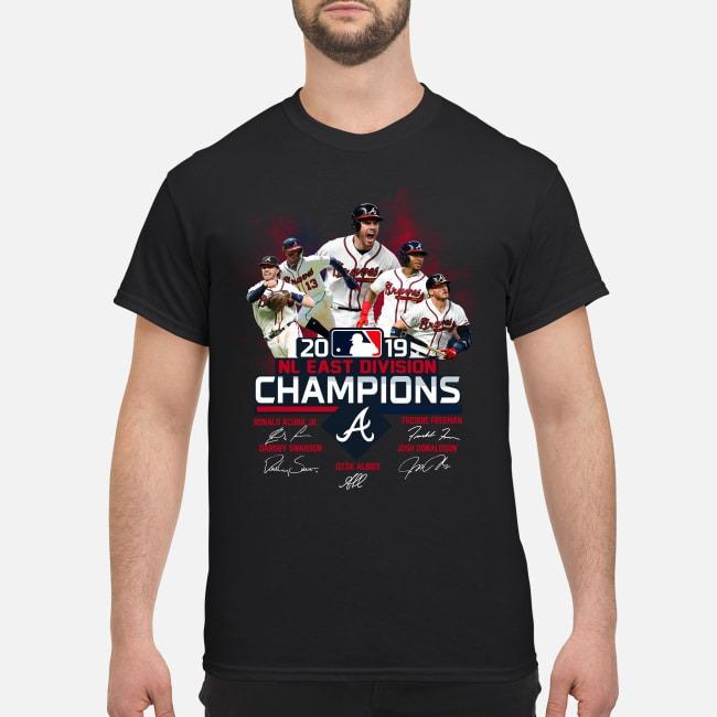 Atlanta Braves 2019 NL East Divison champion shirt