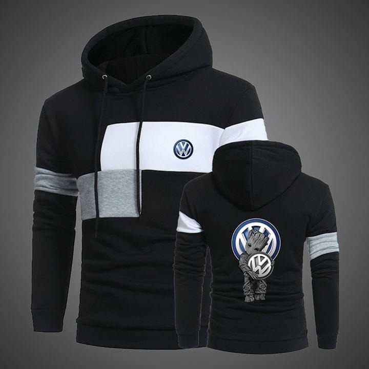 Groot hug Volkswagen full over 3d print hoodie