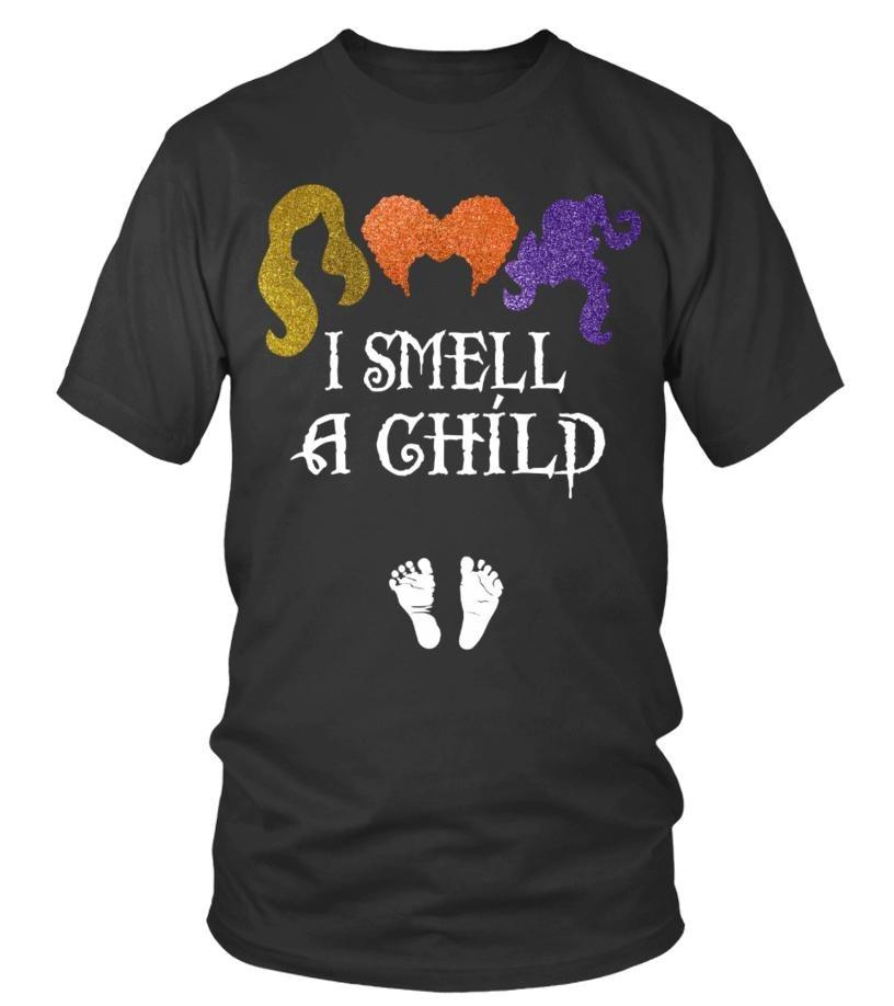 Hocus Pocus I smell a child unisex shirt