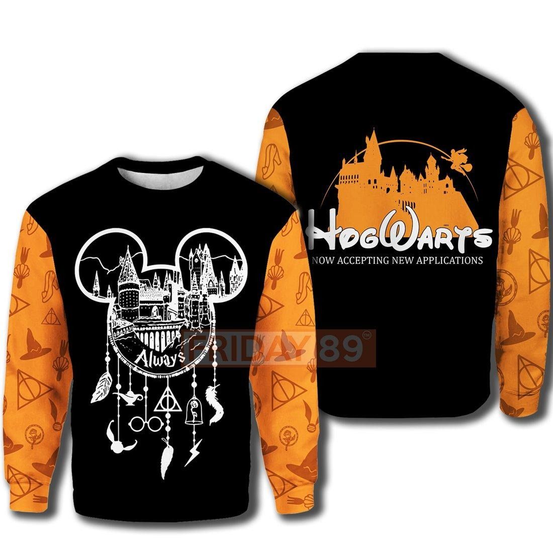 Hogwarts always dreamcatcher now accepting new appilcation 3d hoodie and sweater