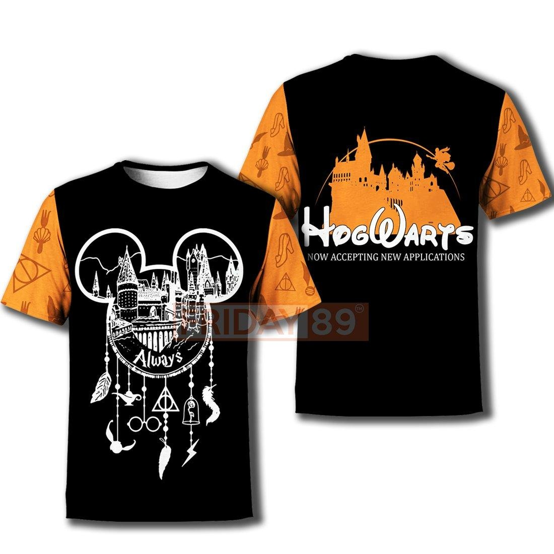 Hogwarts always dreamcatcher now accepting new appilcation 3d hoodie and t-shirt