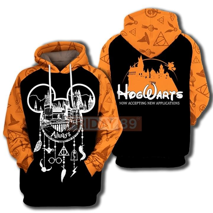 Hogwarts always dreamcatcher now accepting new appilcation 3d hoodie