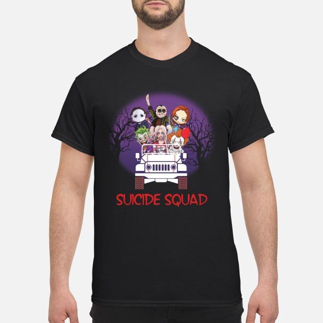 Horror movie sucide squad shirt