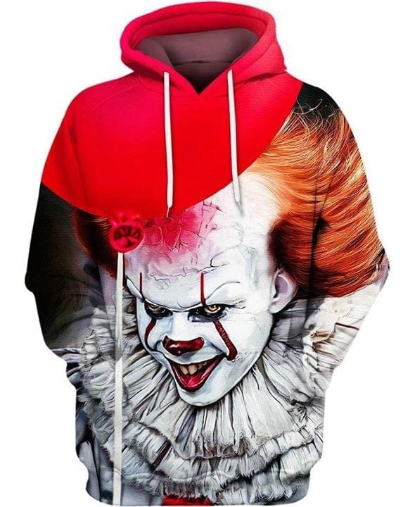 IT Pennywise 3d all over print hoodie