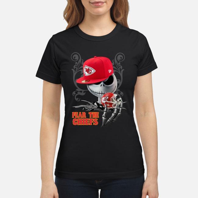 Jack Skellington Fear the Chiefs classic shirt