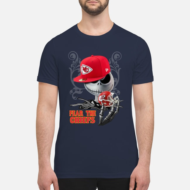 Jack Skellington Fear the Chiefs premium men's shirt