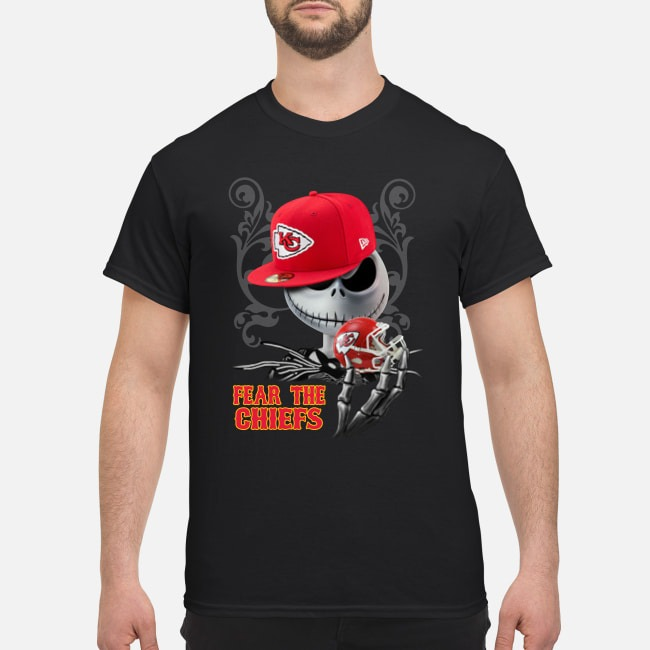 Jack Skellington Fear the Chiefs shirt