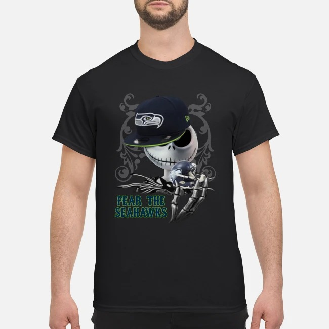Jack Skellington Fear the Seahawks classic shirt