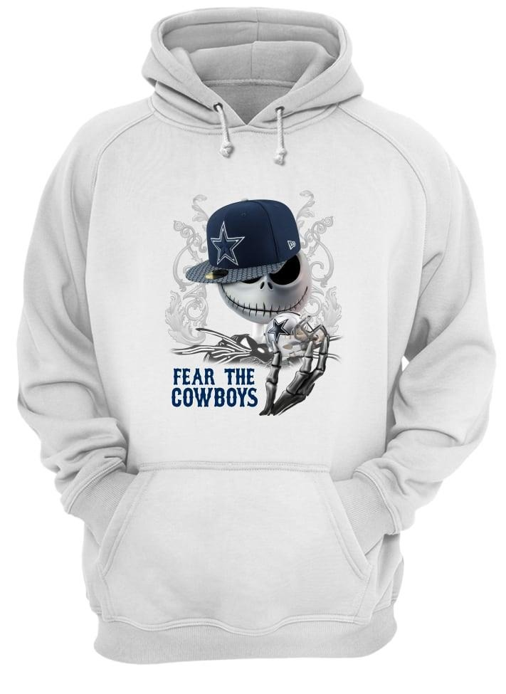 Jack Skellington fear the Cowboys shirt and hoodie