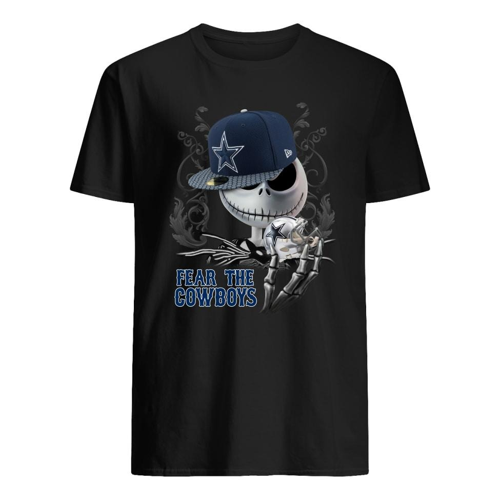 Jack Skellington fear the Cowboys shirt