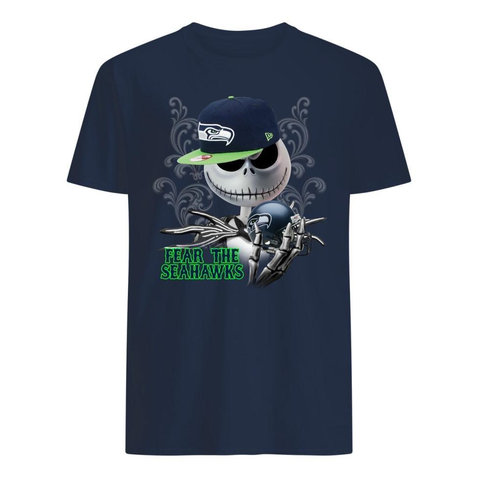 Jack Skellington fear the raiders shirts