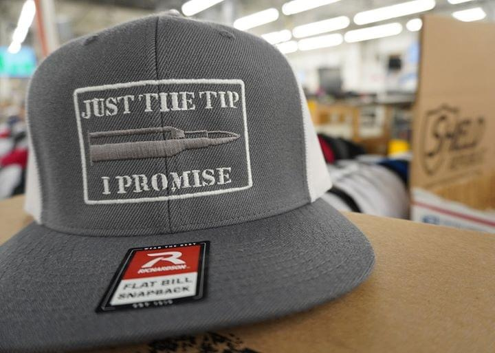 Just the tip I promise hat