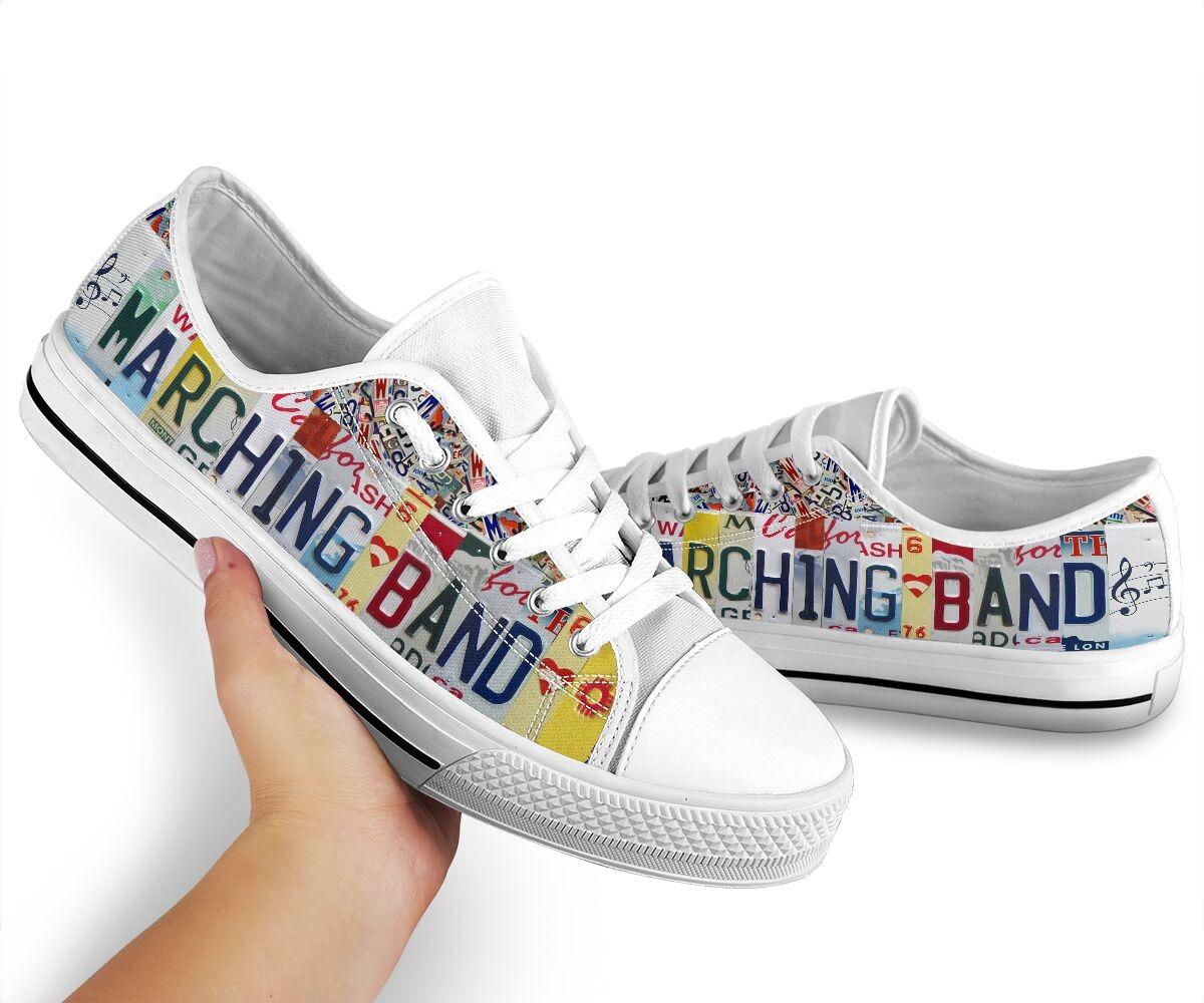 Merching band hot shoes