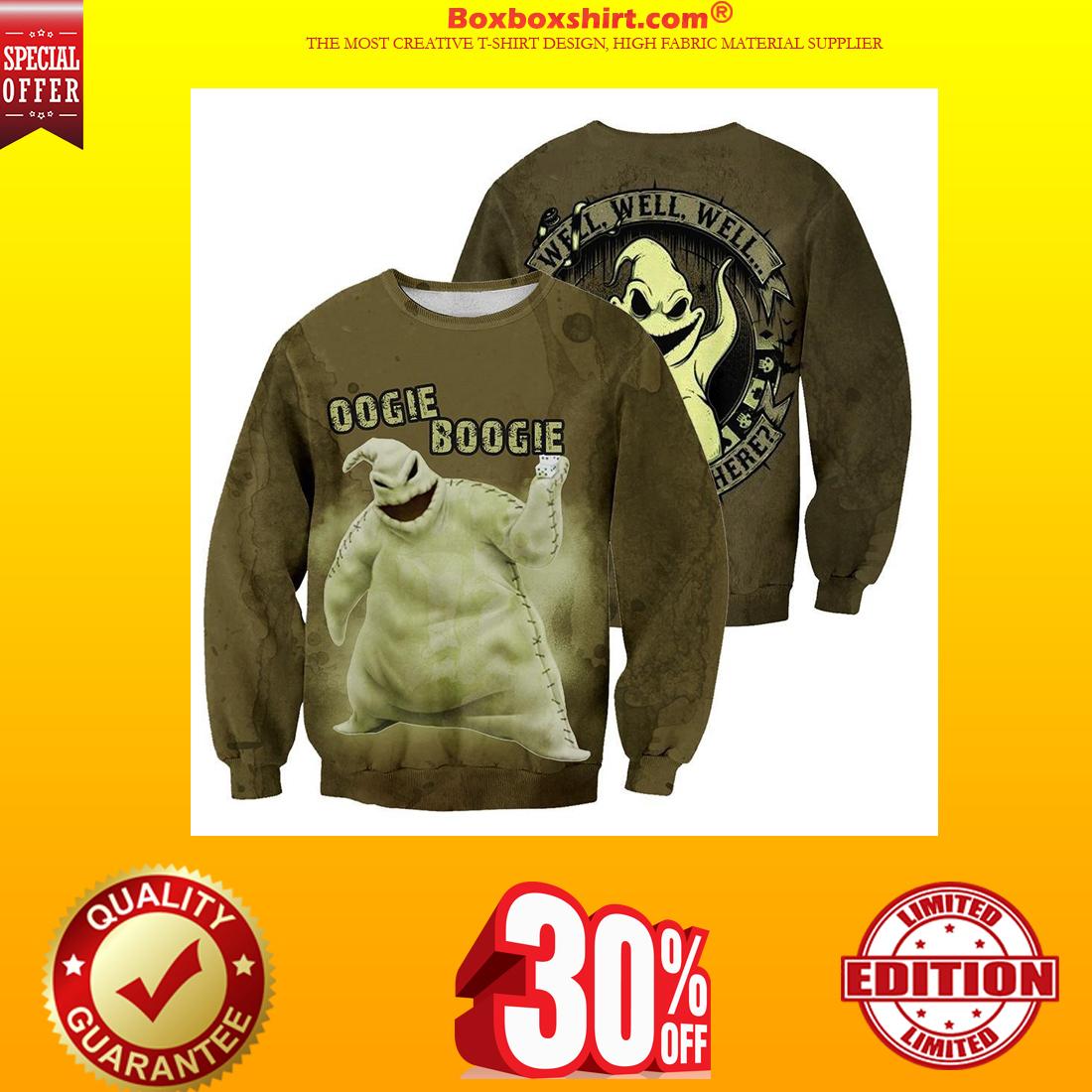 Oogie Boogie 3d sweatshirt