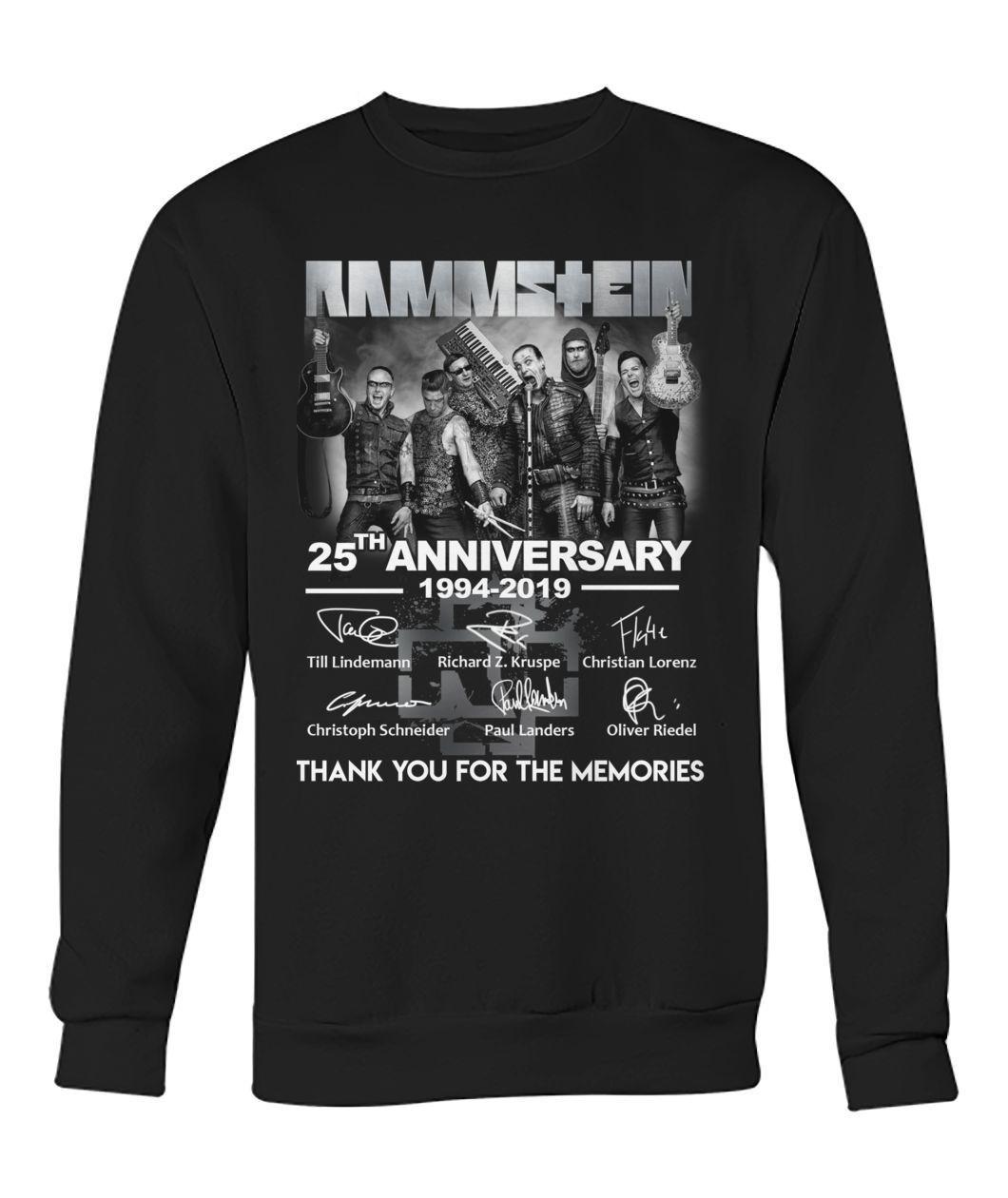 Rammstein 25th anniversary 1994 2019 sweatshirt