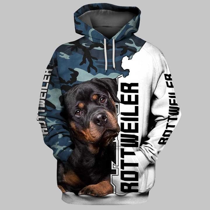 Rottweiler 3d shirt and hoodie