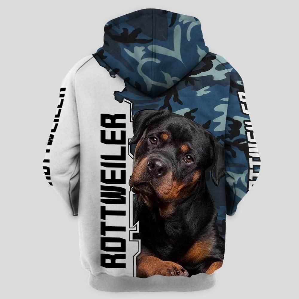 Rottweiler 3d shirt and hot hoodie