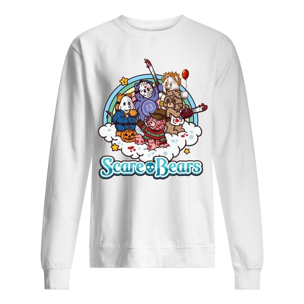 Scare bears horror character sweatshirt