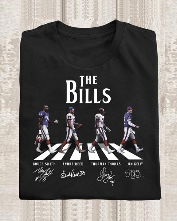 The Bills abbey road shirt