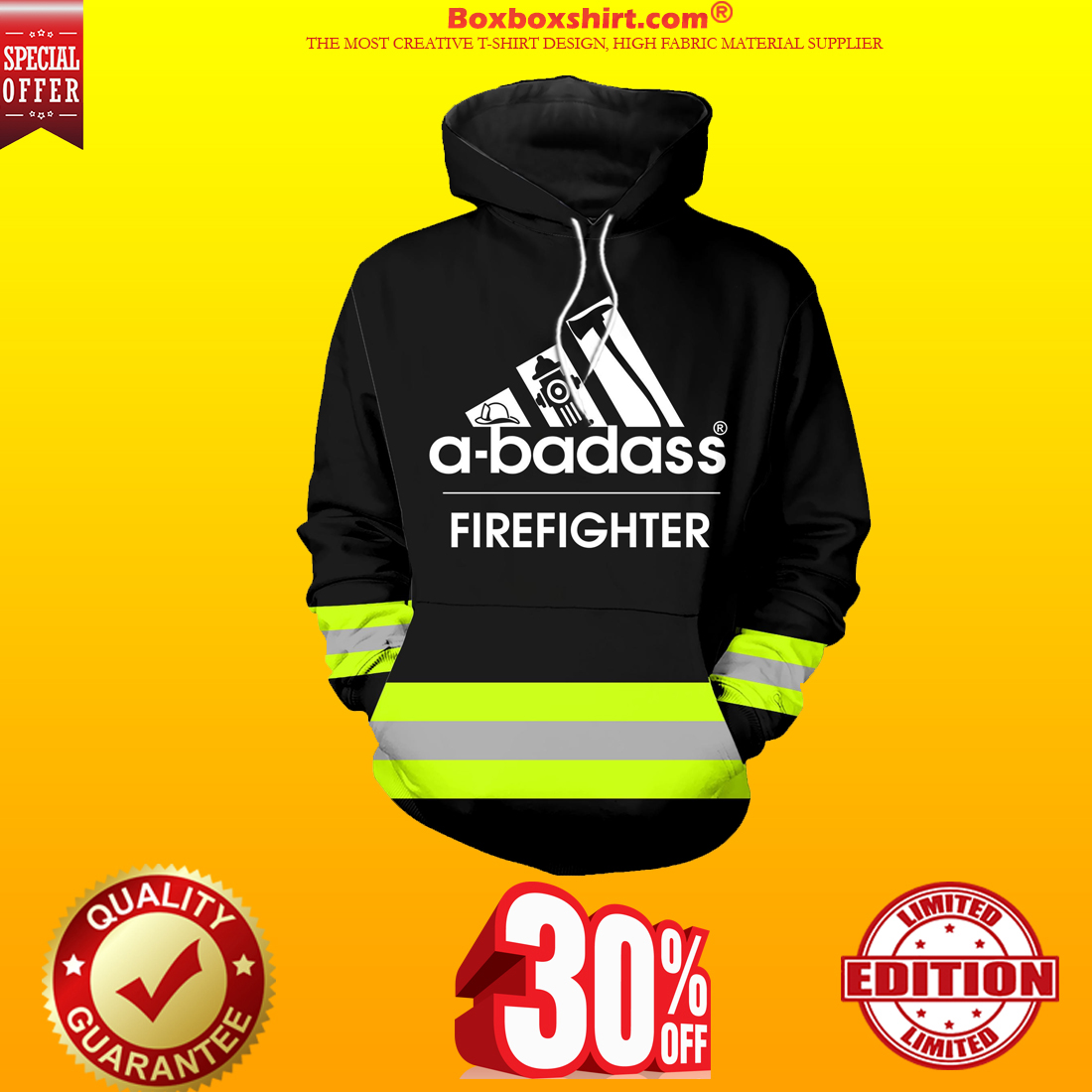 Under Armour firefighter 3d hoodie shirts