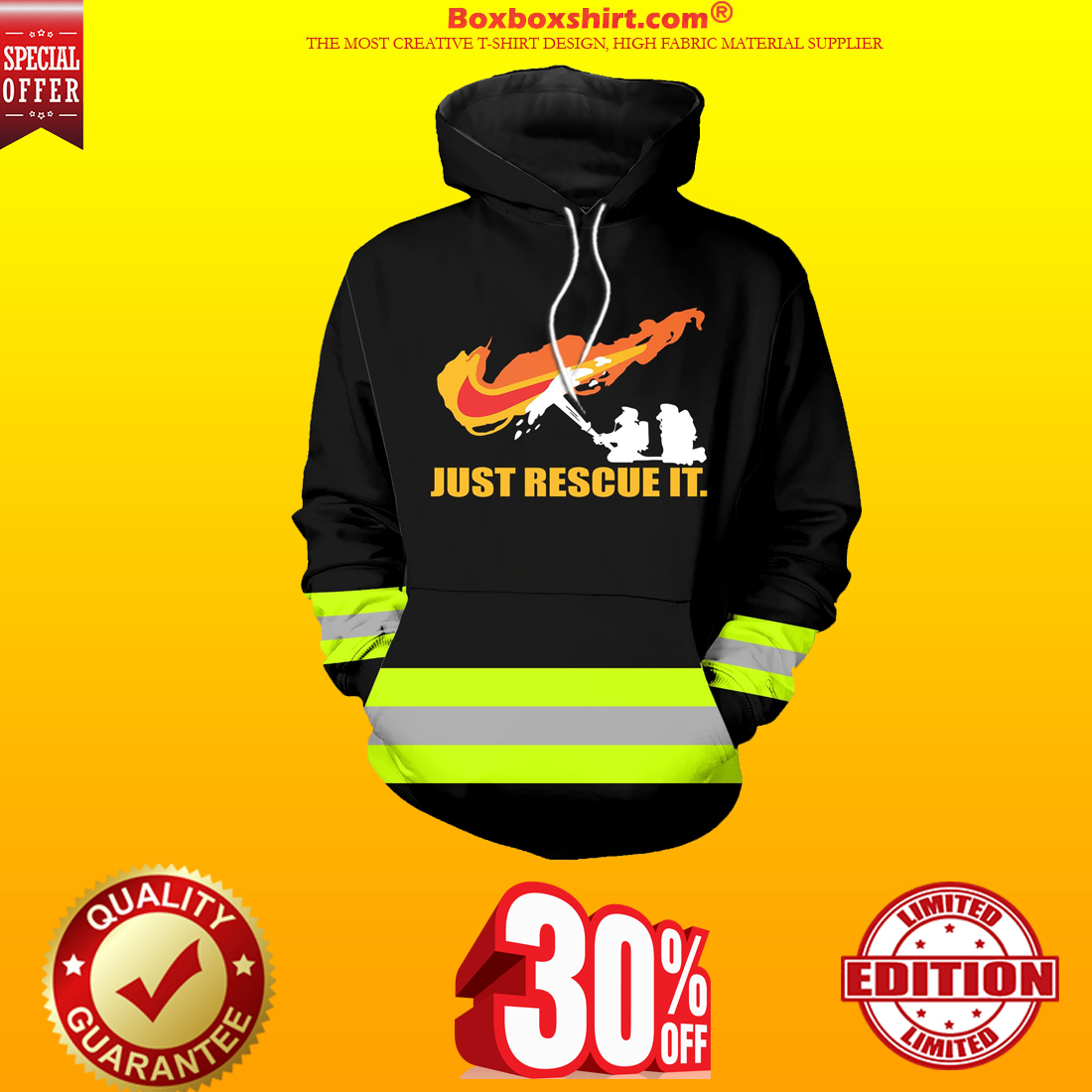 Under Armour firefighter hoodie and shirts 3d