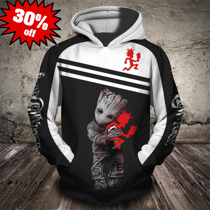 Groot insane clown posse 3d full print hot hoodie