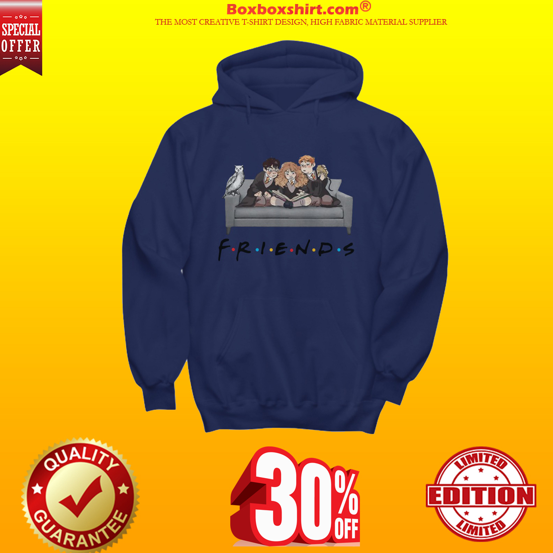 Harry Potter friends show shirt and hoodie