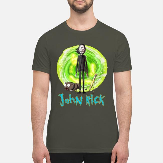 John Wick John Rick premium men's shirt