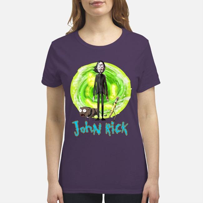 John Wick John Rick premium women's shirt