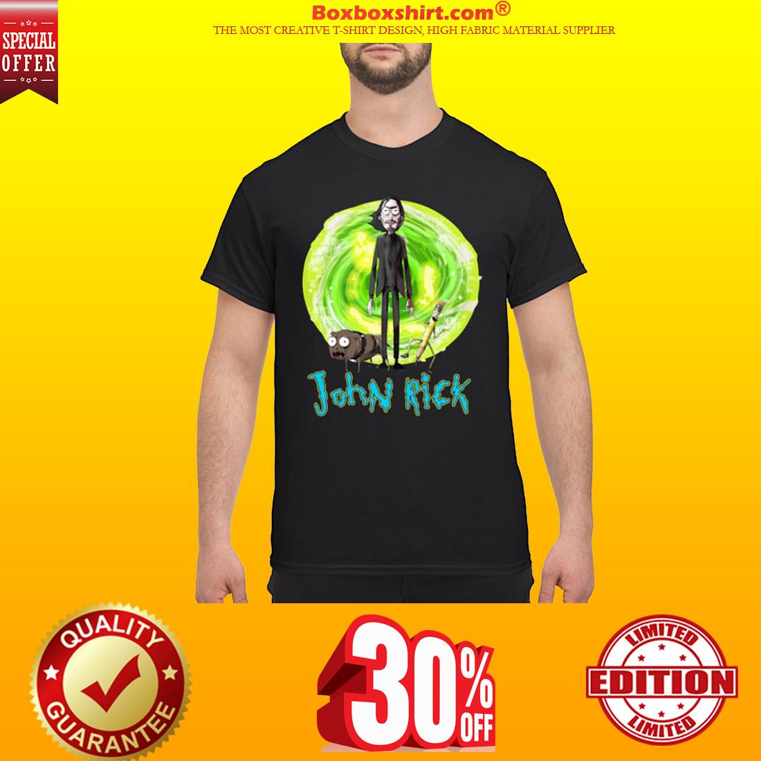 John Wick John Rick shirt